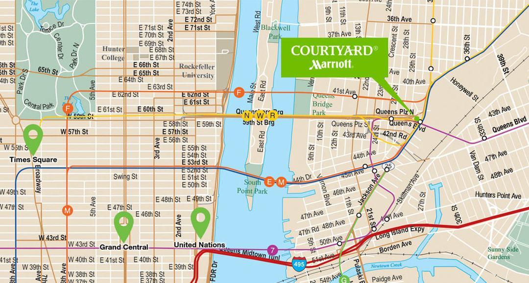 Map Long Island Manhattan
