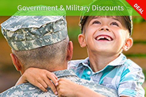 Goverment & Military Discounts
